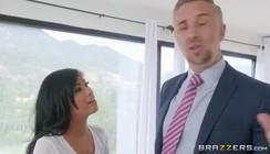 As Bucetas Mais Lindas maridão espera esposa sair pra comer empregada